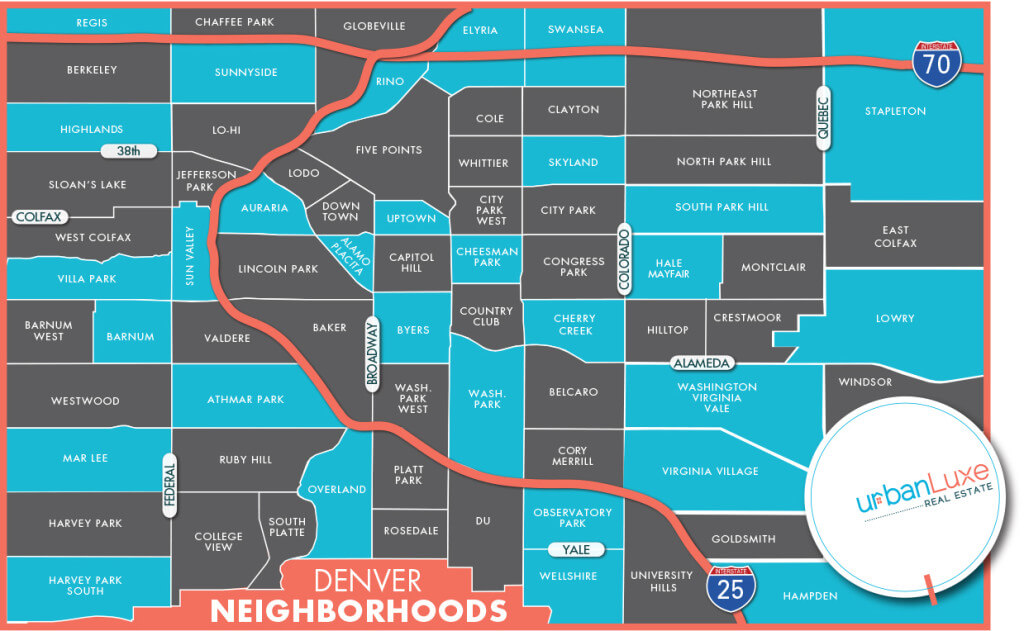 Denver neighborhood map 2015