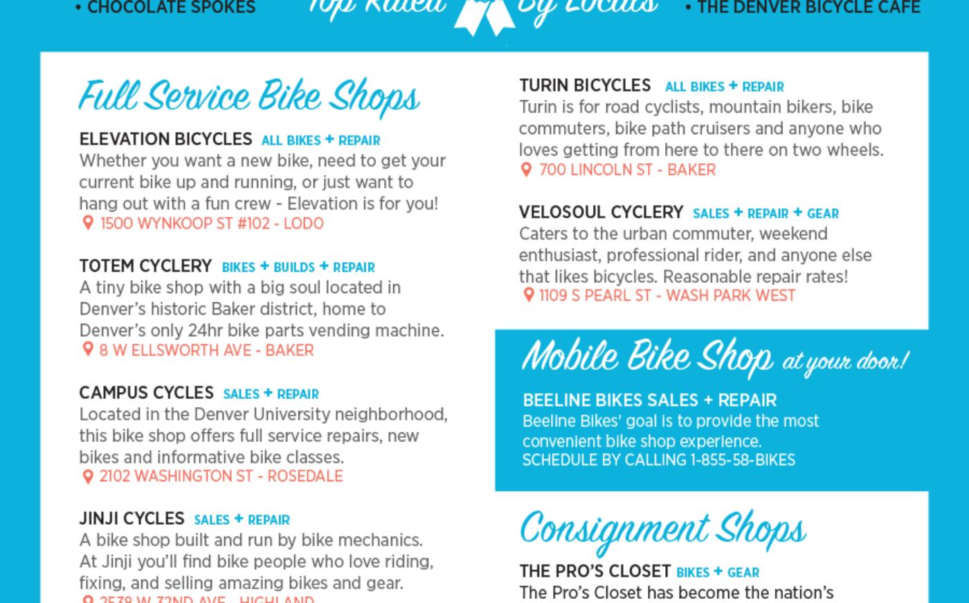 Denver Bike Shops
