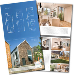 Modern Home Brochure Urban Luxe Real Estate Denver CO Lifestyle