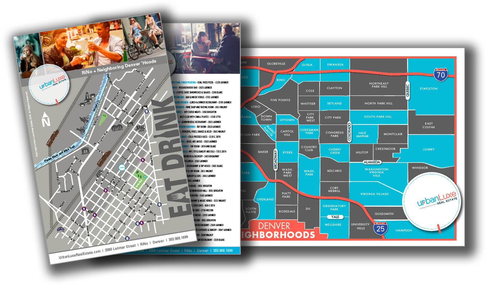Rino Denver Map Urban Luxe Real Estate